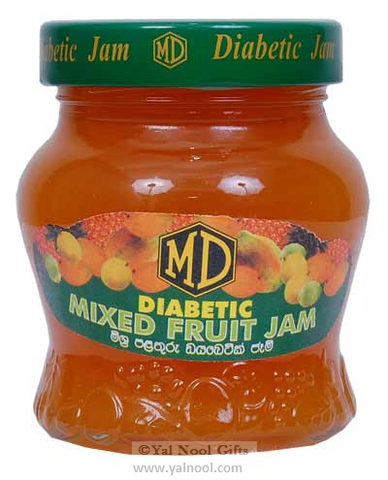 MD Diabetic Mixed Fruit Jam 330g