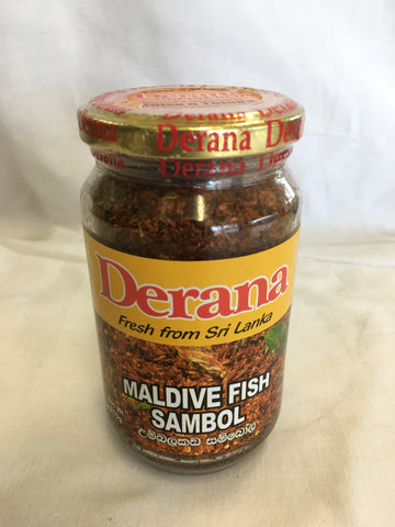 Derana Fried Onion & Maldive Fish Sambol 200g