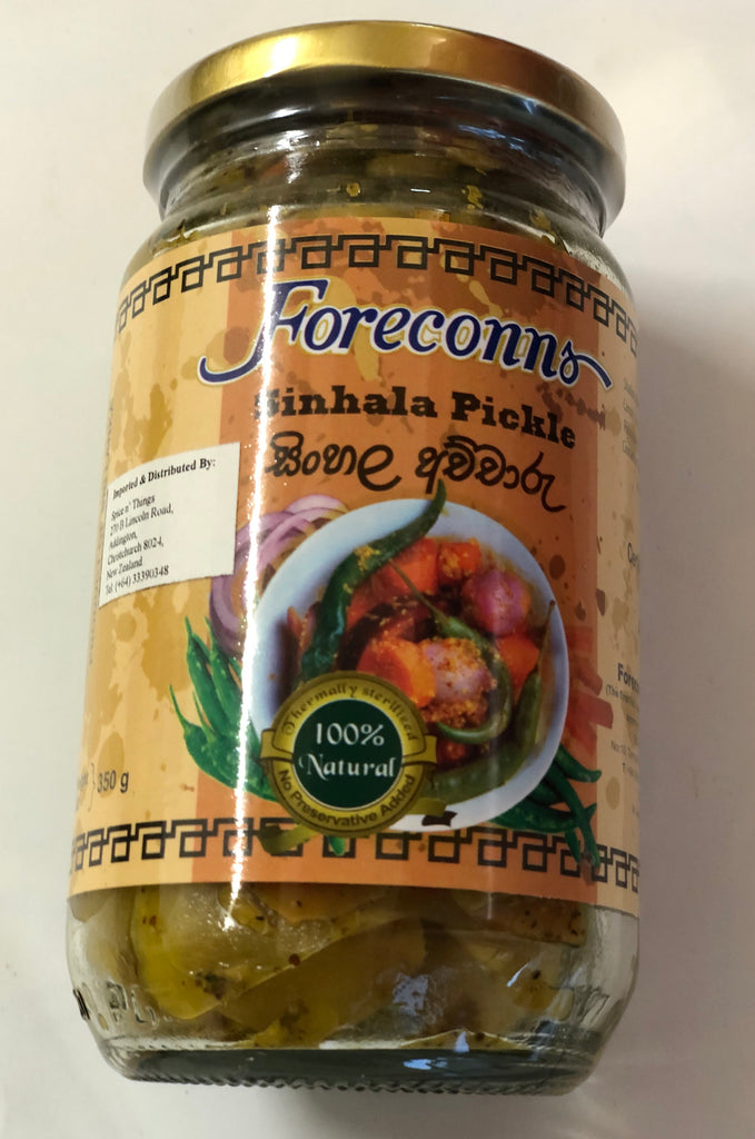 Foreconns Sinhala Pickle 350g Bottle