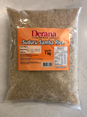 Deran Suduru samba Rice 1 Kg Packet