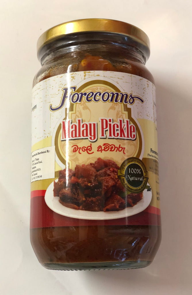 Foreconns Malay Pickle 400g Bottle