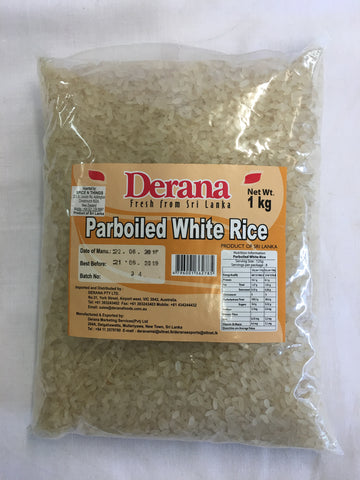 Dearan Parboiled White Rice 1 Kg
