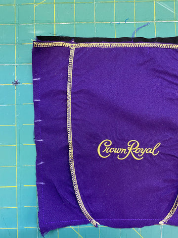marking your crown royal mask