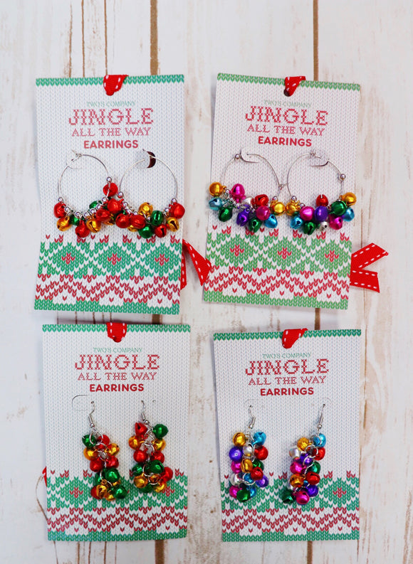 Last Call Jingle Bell Earrings
