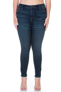 Last Call Queen Size Dark Skinny Jeans
