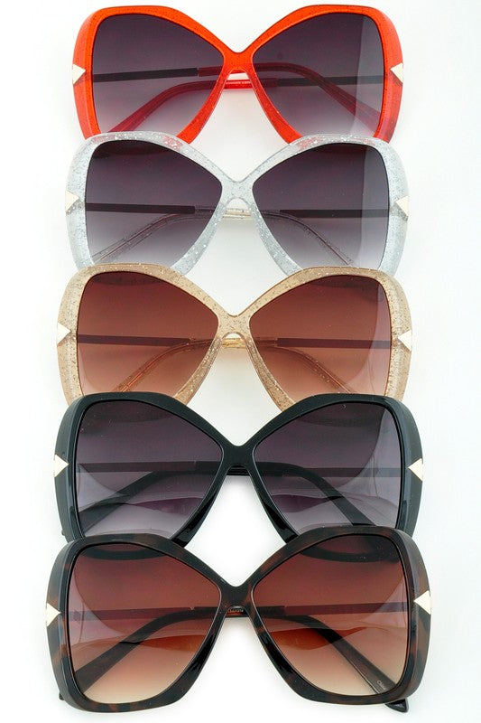 Glitter Gal Statement Sunglasses [5 Colors]
