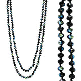 Double Down Bead Necklace [All Colors]