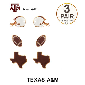 Game Day Stud Earrings Set [2 Colors]