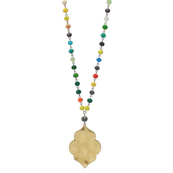 Last Call Fiesta Medallion Necklace