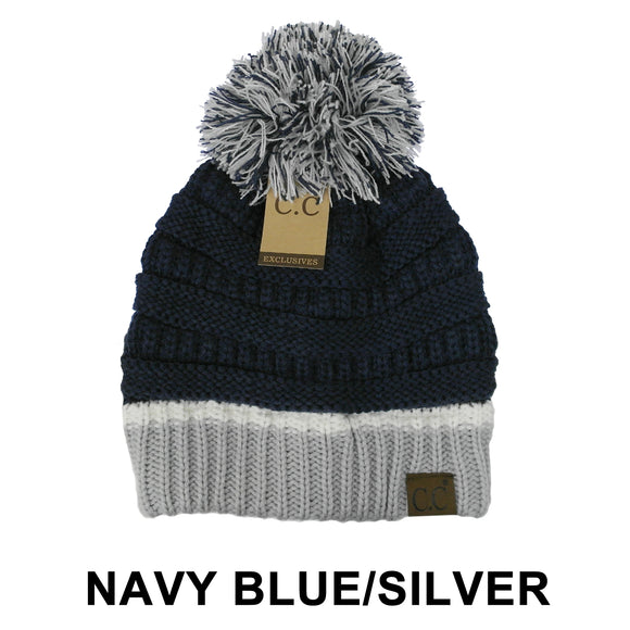 Dallas Cowboys Poof Beanie