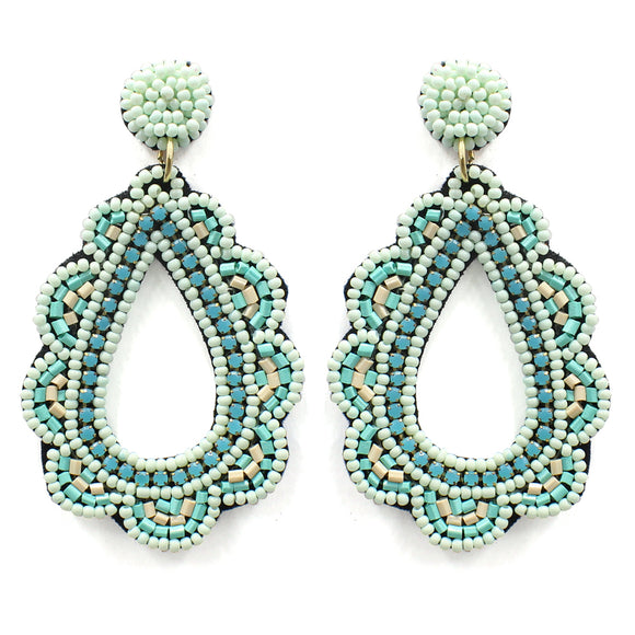 Julep Seed Bead Earrings [3 Colors]