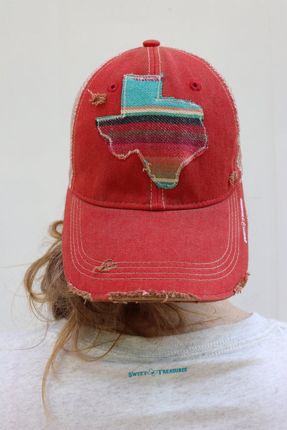 Olga Serape Dirty Trucker Hat