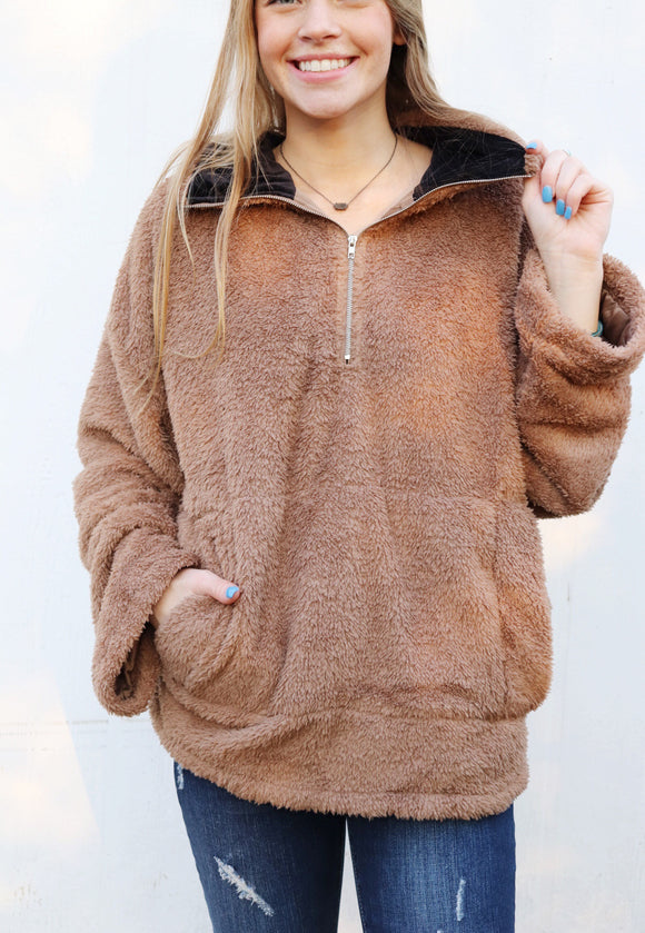 Teddy Bear Sweater [Brown]