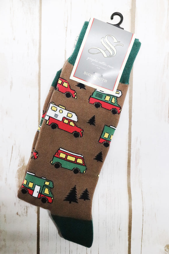 Are We There Yet Men's Socks