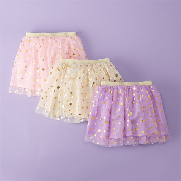 Children's Polka Dot Tutu Skirt [3 Colors]