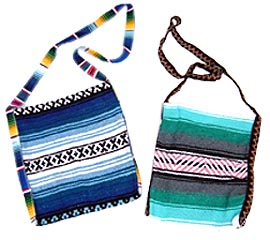 Serape Blanket Crossbody Bag