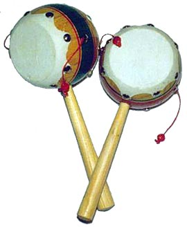 Palm Tamborine Drum