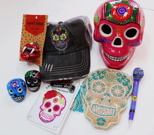 Sugar Skull Trucker Hat