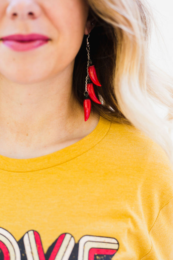 Spicy Mami Hot Tamale Earrings