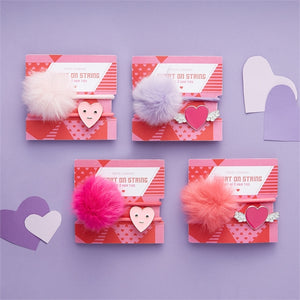 Heart on a String Hair Tie Set