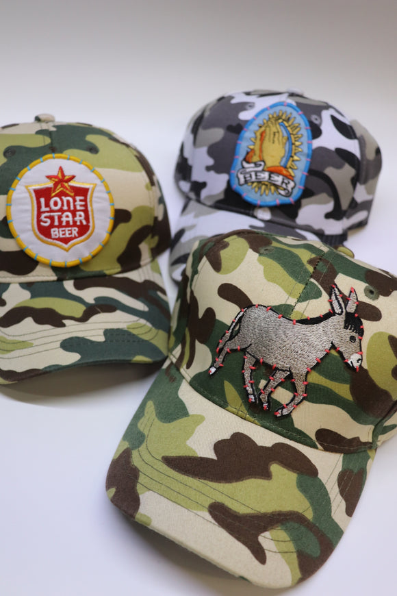 Last Call Camo Patch Hat