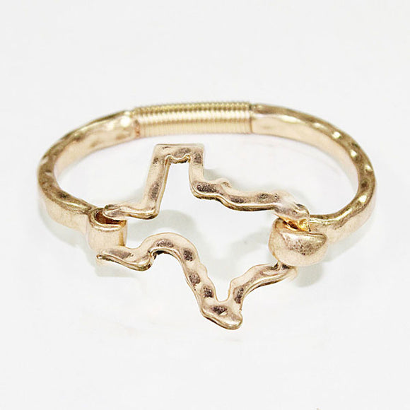Hammered Texas Bracelet [2 colors]