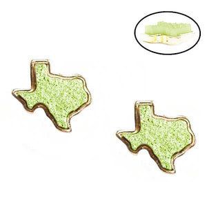 Druzy Texas Stud Earrings [All Colors]