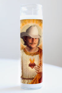 Alan Jackson Celebrity Saint Candle
