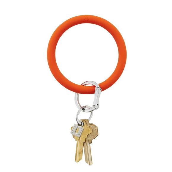 Last Call Big O Silicone Keychain [Orange]