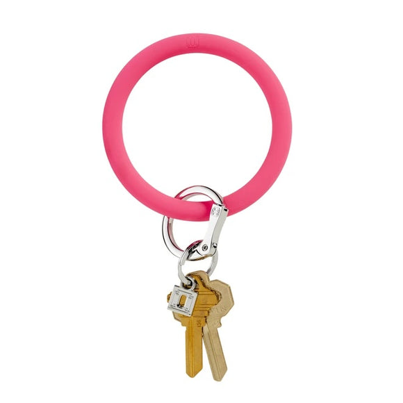 Big O Key Ring Bracelet [Pink]