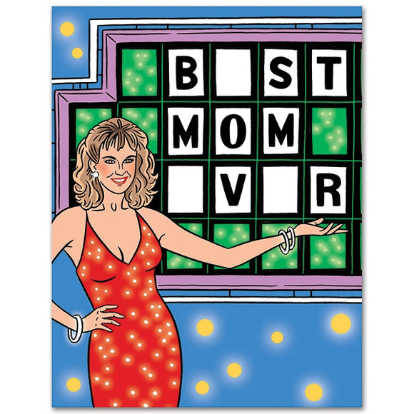 Blank Best Mom Ever Card