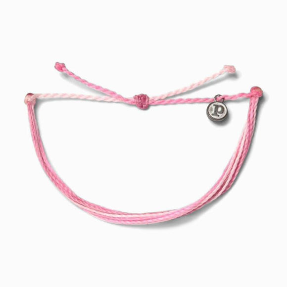 Pura Vida Charity Bracelet [Boarding for Breast Cancer]