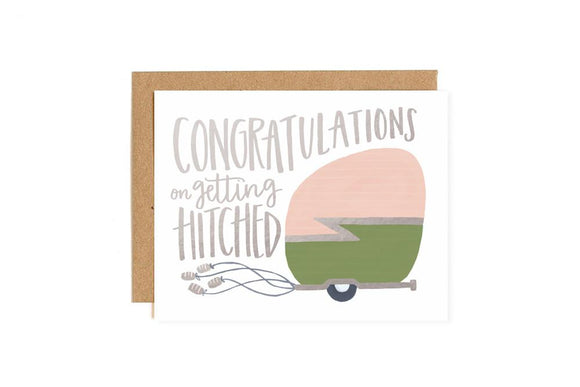 Congrats On Getting Hitched Card
