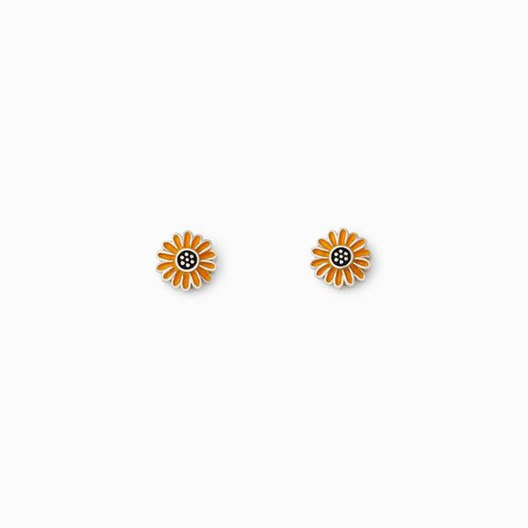 Flaunt your bright side with these freshly picked sunflower stud earrings. Perfect for wearing on their own or with other styles if you have more than one piercing! Sunflower style available in rings also!