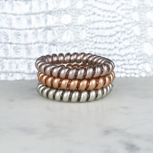 Last Call Hotline Hair Ties [Mixed Metals]