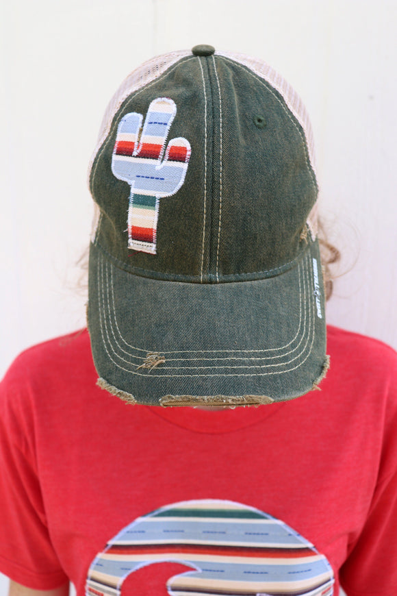 Cielo Serape Dirty Trucker Hat