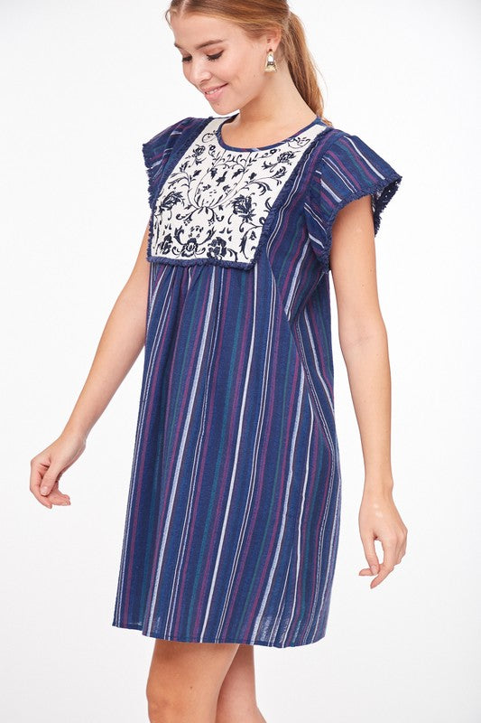 East Mountain Embroidered Dress