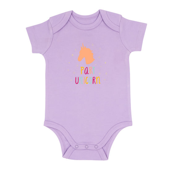 Last Call Part Unicorn Baby Onesie