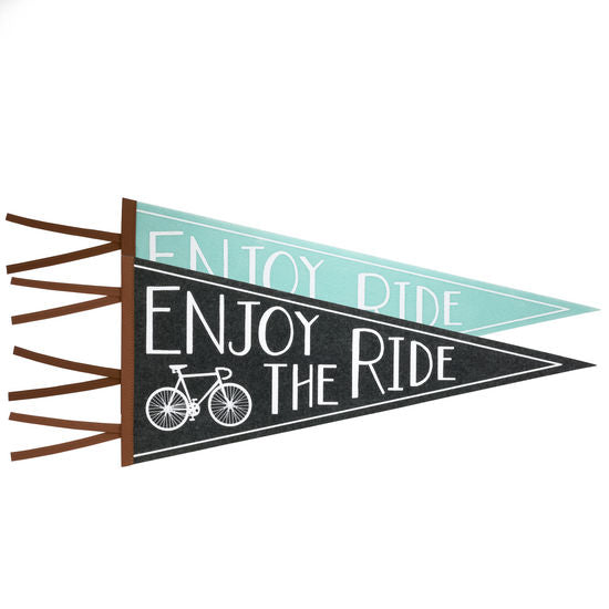 Last Call Enjoy The Ride Wall Pennant