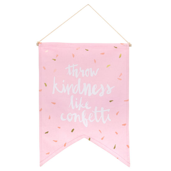 Throw Kindness Like Confetti Banner