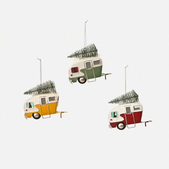 Retro Camper Ornament