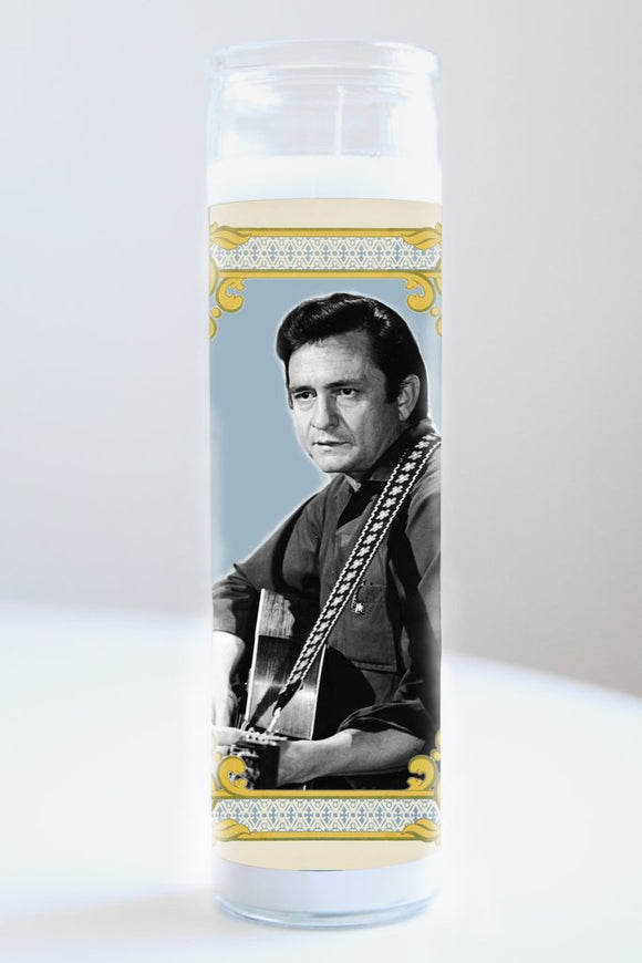 Johnny Cash Celebrity Saint Candle [2 Styles]
