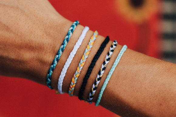 Last Call Pura Vida Mini Braided Bracelet [All Colors]