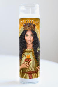Lizzo Celebrity Saint Candle