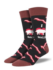 Last Call MMM Bacon Men's Socks