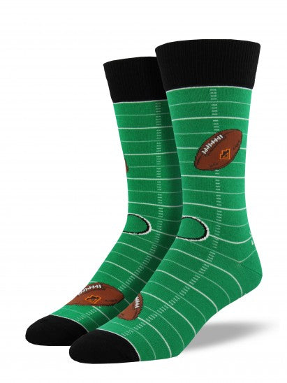 Football Field Men's Socks