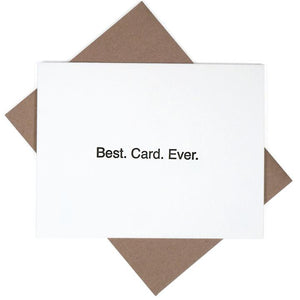 Best Card Ever Card
