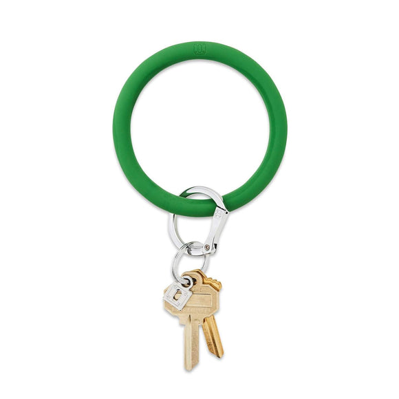 Last Call Big O Silicone Keychain [Green]