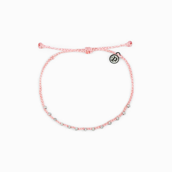 Pura Vida Stitched Beaded Anklet [4 Colors]