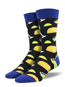 Tacos and Margs Men's Socks